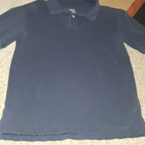 Boys L blue polo